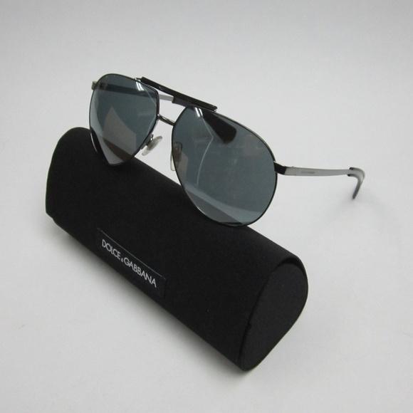 824aa7418af5 Dolce   Gabbana Accessories - Dolce   Gabbana DG2152 Aviator Sunglasses   ELI739